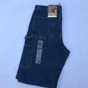 NWT Carhartt Logger Dungaree Jeans 32x34